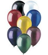 "12"" Crystal Assorted Latex (10 Per Bag)"
