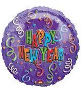 New Years Mylar Balloon