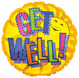 get well heliuim balloons