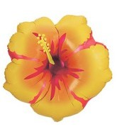 "30"" Hibiscus Flower Large Balloon"