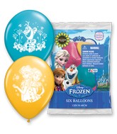 "12"" 6 Count Special Assorted Frozen Fever"