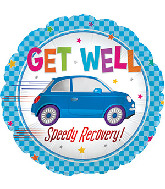 "17"" Get Well Speedy Recovery Foil Balloon"