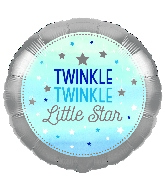 "18"" Twinkle Twinkle Little Star Blue Boy"