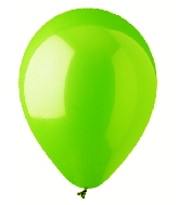 "5"" Lime Green Latex 100 Per Bag"