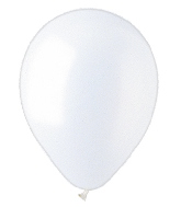"5"" Pearl White Latex 100 Per Bag"
