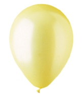 "5"" Pearl Yellow Latex 100 Per Bag"