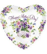 "18"" Mother's Day Basket of Flowers"