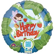 "18"" Fairy Birthday Balloon"