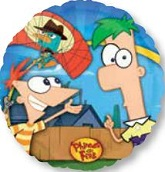 "18"" Phineas & Ferb Group Mylar Balloon"