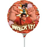 "9"" Airfill Only Wreck It Ralph Balloon"