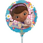 "9"" Airfill Only Doc McStuffins Balloon"