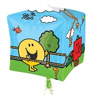 "15"" Mr Men UltraCubez Foil Balloon"