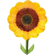 "29"" SuperShape Yellow Sunflower Balloon"