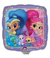 "9"" Airfill Only Shimmer and Shine Balloon"
