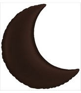 "24"" Moon Shape Chocolate Color Jumbo Balloon"