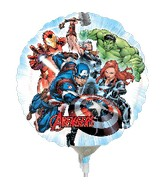 "9"" Airfill Only Avengers Balloon"