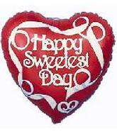 Sweetest Day Mylar Balloons
