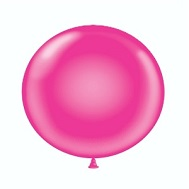 "36"" Tuf Tex Latex Balloon 2 Count Hot Pink"
