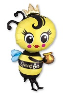 "40"" Queen Bee Foil Balloon"