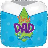 "18"" Best Dad Ever Balloon"