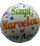 "18"" Simply Marvelous At Any Age Slightly Damaged"