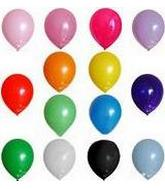 "5"" Latex Balloons  Creative Brand (144 Count) with Darks."