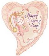 "26"" Sweetest Day Locket Heart 5B84"