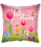 "18"" I Love you Mom Tulips Balloon"