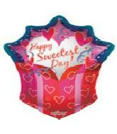 "36"" Sweetest Day Gift Jumbo Shape 5B62"
