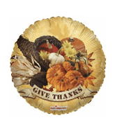 "18"" Give Thanks Cornucopia"