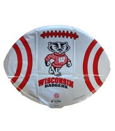 "18"" Wisconsin Badgers Collegiate Football Damaged Balloon"