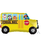 "30"" Jumbo School Bus Balloon"