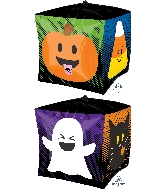 "15"" Ultrashape™ Cubez™ Halloween Emoticons Balloon"