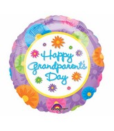"18"" Happy Grandparent's Day Balloon Packaged"
