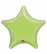 "32"" Large Balloon Lime Star"