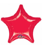 "32"" Large Balloon Red Star"