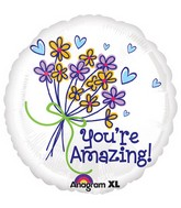 "18"" You're Amazing Bouquet Balloon"