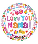 "18"" Love You Nana Balloon"