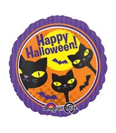 "18"" Halloween Cats Balloon"