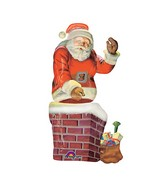"53"" Giant Multi-Balloon Santa and Chimney Packaged"