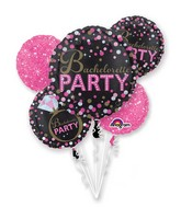 Bouquet Bachelorette Sassy Party Balloon Packaged