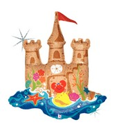 "35"" Holographic Sand Castle Moat"