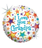 18'' I Love You Grandpa B139