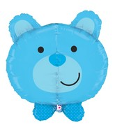 "27"" Multi-Sided Dimensionals™ Baby Boy Bear Balloon"