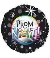 "17"" Prom Night Balloon Packaged"