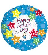 "18"" Father's Day Stickboy Balloon"
