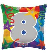 "18"" Party Number 8 Balloon"