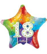 "18"" 18th Candles Balloon"
