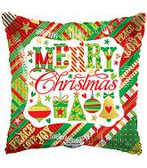 "18"" Christmas Small Elements Balloon"