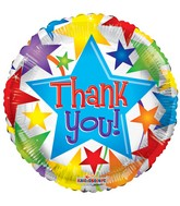"18"" Thank You Stars Balloon"